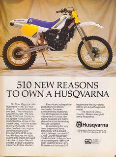 HUSQVARNA 510 - 1984