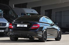 Mercedes-Benz C63 AMG Coupe by KTW Tuning
