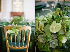 Emerald Art Deco Wedding Inspiration