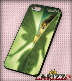 "beauty in green tinkerbell for iPhone 4/4s, iPhone 5/5S/5C/6/6 , Samsung S3/S4/S5, Samsung Note 3/4 Case ""007"""