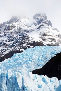 Glacier's National Park in El Calafate, Argentina. I loved glacier trekking on this beautiful ice mountain. The shades of blue were unimaginable!