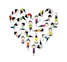 I love [bikram] yoga and I love this pic.