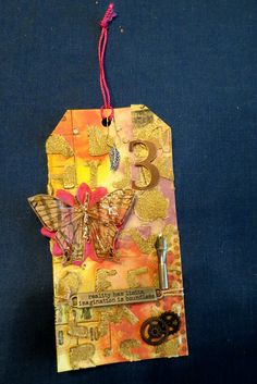 On to Tim Holtz's tags of 2015~! My take on March 2015 #12Tags2015
