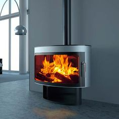 Future Fires Panoramic FX1 Wood Burning Stove