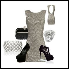 Next New Years outfit... well at least I have 9 months to find the perfect sparkle dress!
