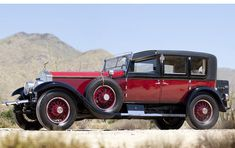 Classic Rolls Royce - I so want this car!