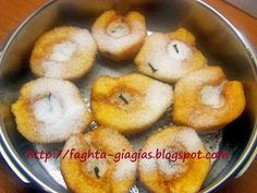 Κυδώνι σε καραμελωμένο σιρόπι Food To Make, Food And Drink, Menu, Cooking Recipes, Sweets, Candy, Chocolate, Fruit, Desserts