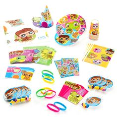 Littlest Pet Shop Birthday Party Supplies Pack for 8