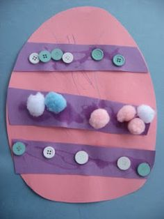 Paper craft is a great idea for toddlers or young children for Easter prep.