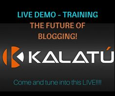 Thousands of internet marketers are excited about the brand NEW Sleek Kalatu Blog Platform and are watching the live webcast that will give a demo of this powerful Wordpress Blog. How does this affect YOU?   Act quickly to view this LIVE WEBCAST available for a limited time!