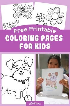 Print out our free coloring pages for kids for some screen-free fun! It's the perfect way to have a blast at home and practice kids' creativity. Perfect for a range of ages! We will be adding new pages regularly, so keep checking back for more. | #lifeasmama #coloringpages #printables #freeprintables #activities #kids #kidsactivities #coloring Free Printable Coloring Pages, Coloring Pages For Kids, Free Printables, Toddler Preschool, Toddler Activities, Activities For Kids, Fun Crafts For Kids, Projects For Kids, Kids Board