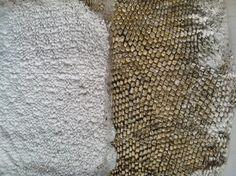 AMFI minor textile, my experimental textile design class. Students work