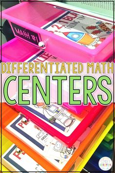 These differentiated math centers are perfect for first grade and 2nd grade students. They are great to use because each center comes in two levels! Students will solve math puzzles, matching activities, task cards and more for addition, subtraction, measurement, time, money, geometry, and word problems! These are great for adding to your math rotations and math games and work stations. Having two levels will help your math organization, too!