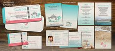 Wedding Cruise Nautical Set All Aboard Save The by Idowithyou