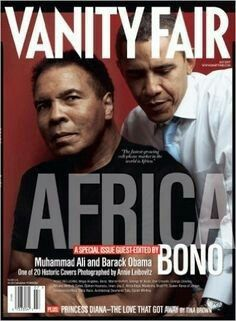 Muhammad Ali and President Barack Obama