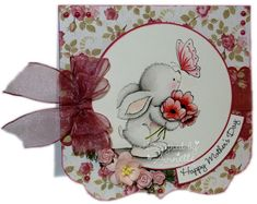 Netty's Cards: Mother's Day Bunny
