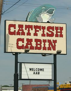 Catfish Cabin - Monroe LA  Had my wedding rehearsal dinner here!!!! My brother went to school with the sons.