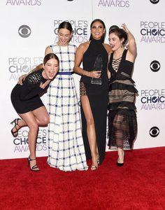 I feel like this picture describes the girls more than any properly posed pictures :')