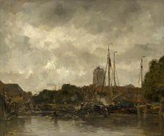 Jacob Maris - Gezicht op Dordrecht