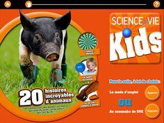Science&Vie Kids pour iPad