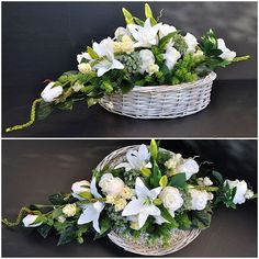 Christmas Advent Wreath, Funeral, Floral Arrangements, Wreaths, Table Decorations, Ikebana, Flowers, Gifts, Design