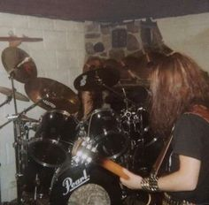Hellhammer and Euronymous of Mayhem