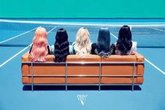 Group Pristine`s first unit comes out. On the 19th, Pristin said,