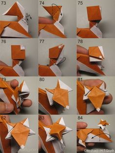 Origami for Everyone – From Beginner to Advanced – DIY Fan Origami Star Box, Origami Ball, Origami Love, Origami Design, Origami Stars, Diy Origami, Origami Flowers, Origami Paper Folding, Modular Origami