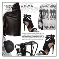 """In white & black"" by fashion-pol ❤ liked on Polyvore featuring Miss KG, Dorothy Perkins and Alexander McQueen"