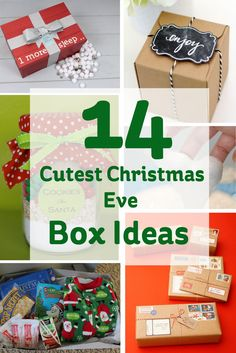 14 cute christmas eve box ideas