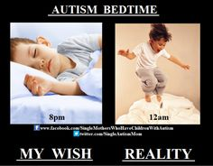 From Single Parents Of Children With Autism on Facebook