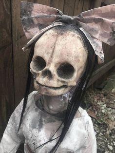 The Morbid Dollhouse Creepy Art