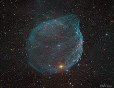 Sharpless 308: Star Bubble