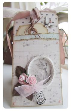 Tag made by a Danish Scrapbooker, Charlotte Nielsen and on the Melissa Frances website.