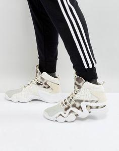 cea565f560b7e adidas Originals Crazy 8 Primeknit Sneakers In White BY4367