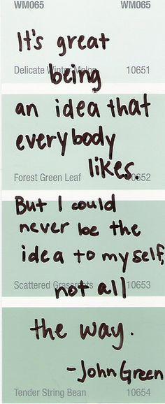 freaking love john green <3
