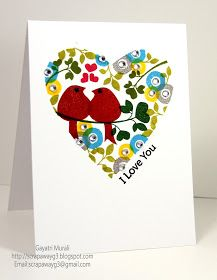 Handmade by G3: Clean and Simple Online Class Day #1, Card #2