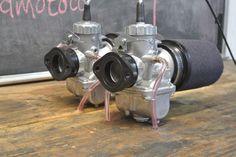 Vm30 Mikuni 30mm Carb Carburetors Carburetor Kit cb350 cl350 Honda twin  #SpeedMotoCo