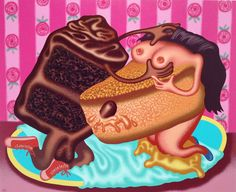 Peter Saul @Mary Powers Powers Powers Boone
