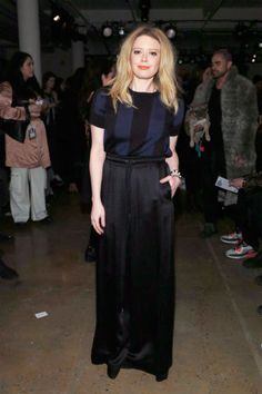 Celebrities at Fashion Week: Natasha Lyonne At Adam Selman