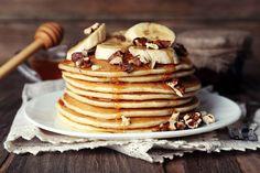 Receta de Panqueques Americanos, Pancakes o Tortas; un postre sencillo de hacer y que resultan irresistibles!