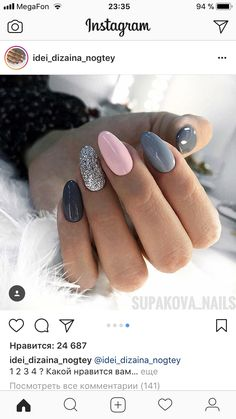 Summer Nail Designs That Will Make You Excited Stylish Nails, Trendy Nails, Cute Nails, My Nails, Perfect Nails, Gorgeous Nails, Pointed Nails, Stiletto Nails, Nagel Hacks