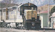 Santa Fe Railroad Locomotive #959 Summit Depot CA Postcard Train 9224