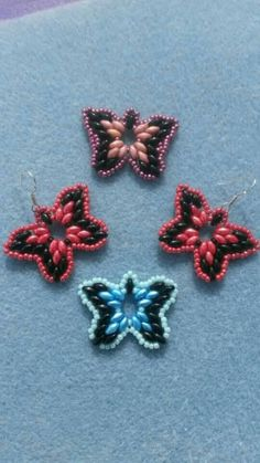 This listing is a PDF tutorial for the gorgeous butterflies that can be used as earrings, ring or pendant, even a bracelet. Straight forward in PDF file with clear photos to each step and description in English.