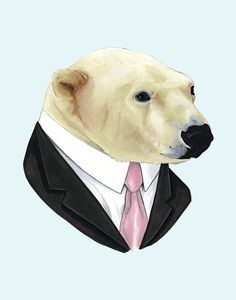 Berkley Illustration - Polar Bear print