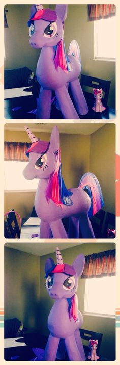 My little Pony, Twilight Sparkle  #pinata #madebyme