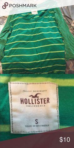 Hollister t shirt 3 quarter sleeve t shirt. Hollister Tops Tees - Long Sleeve