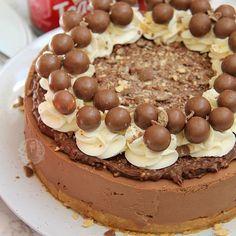 My Maltesers Cheesecake is definitely one of my favourites Recipehellip