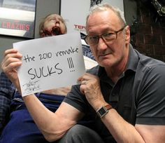 Freddy Krueger aka Robert Englund. This is epic! Haha! I agree with you Robert ;)