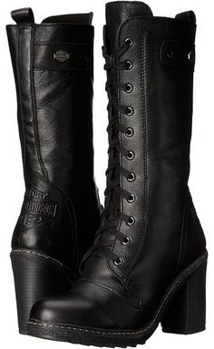 Harley-Davidson – Lunsford Women's Boots … – K Schuhe – Motorrad Harley Boots, Biker Boots, Combat Boots, Womens Harley Davidson Boots, Cowgirl Boots, Western Boots, Riding Boots, Style Converse, Converse Outfits